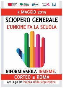 ROMA_sciopero-nazionale-unitario-scuola-5-maggio-2015-manifesto